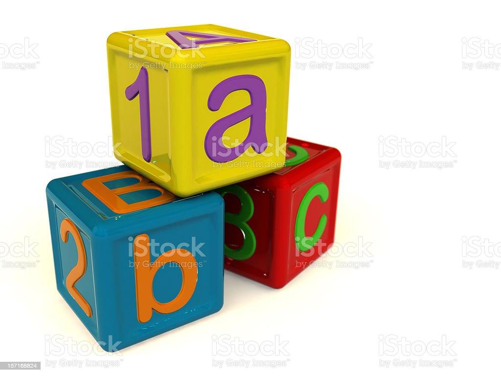 Play Blocks royalty-free stock photo