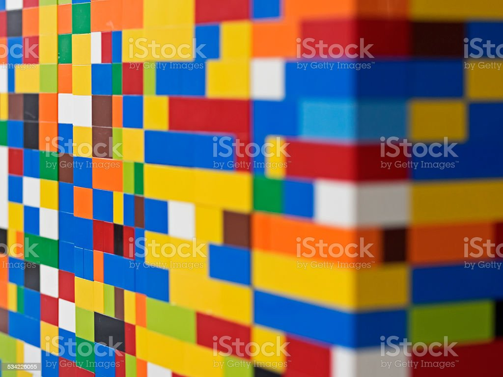 Play building blocks, Spiel-Bausteine stock photo