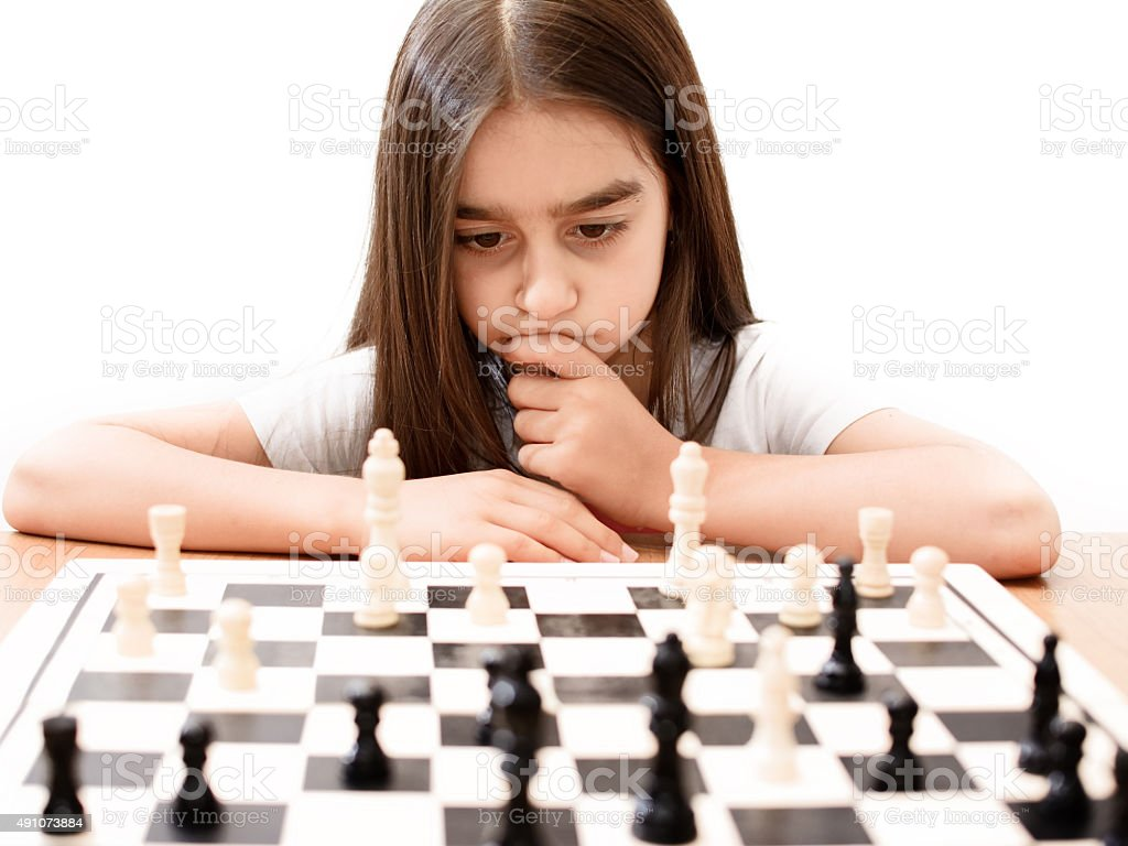 play chess stock photo