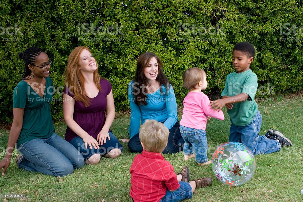 Play date royalty-free stock photo