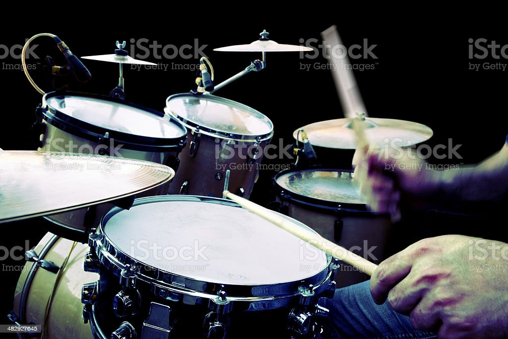 Play drum stock photo