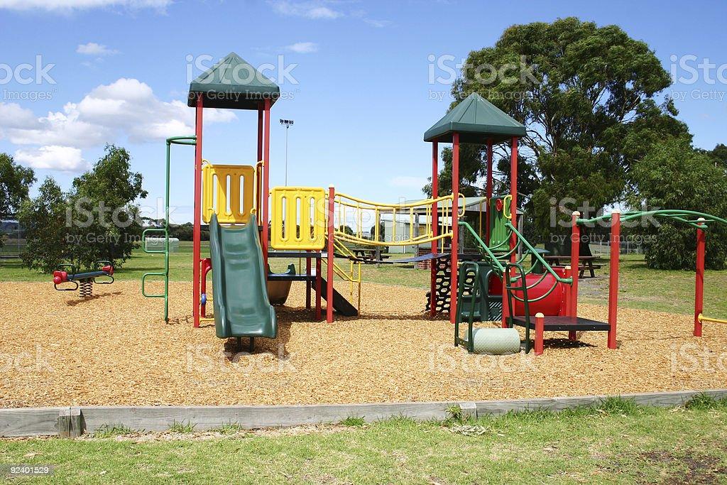 play equipment stock photo