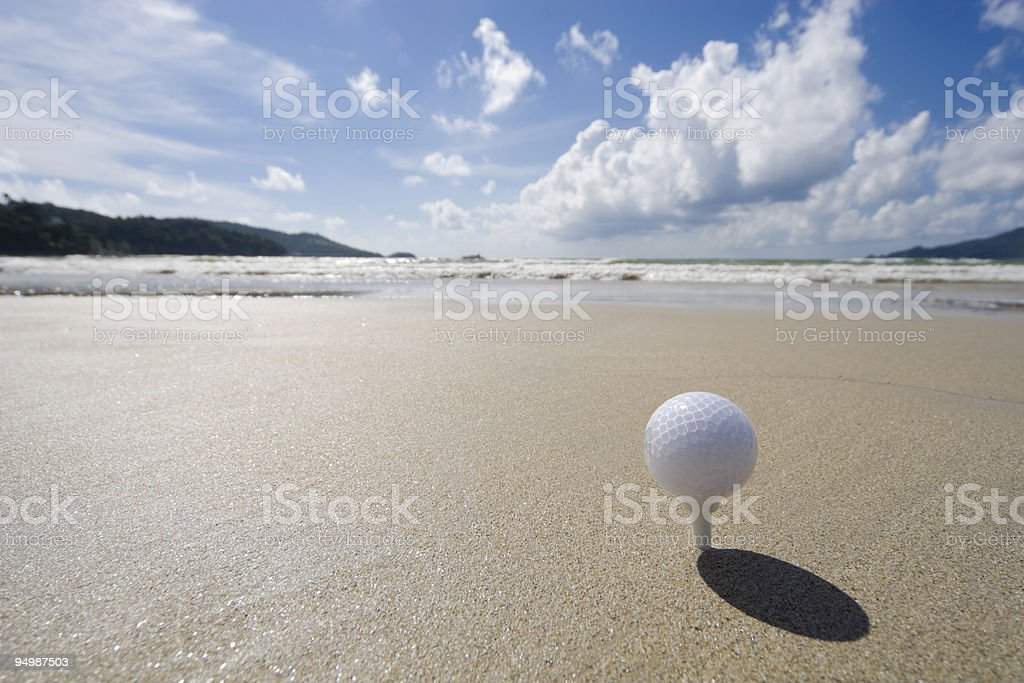 play golf royalty-free stock photo