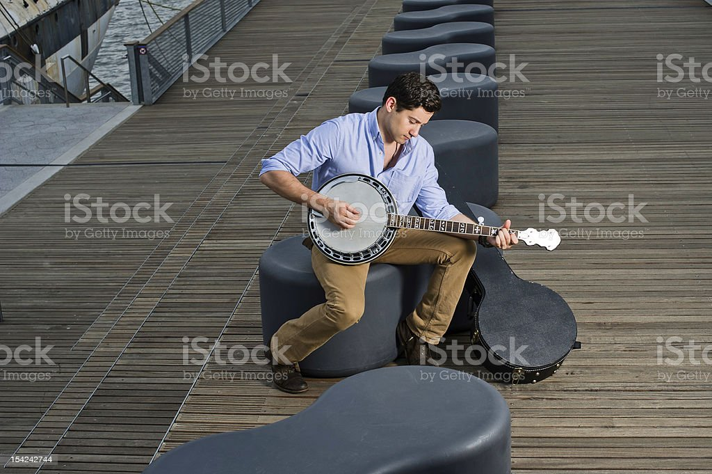 Play Music stock photo