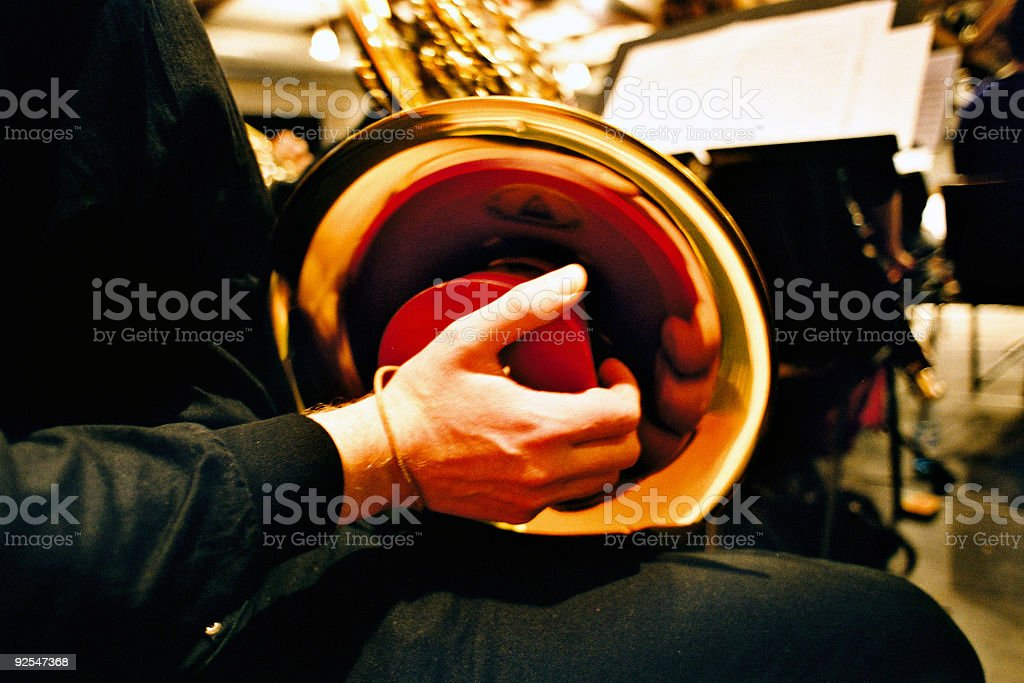 Play Music royalty-free stock photo