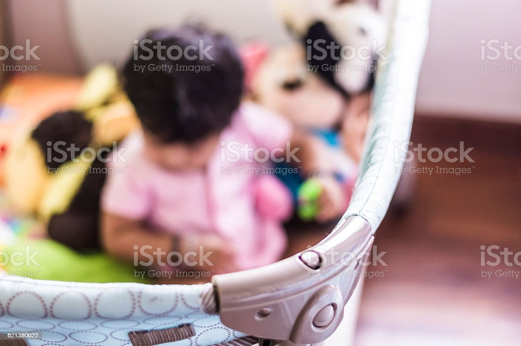 Play pen stock photo