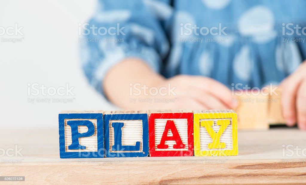 Play stock photo