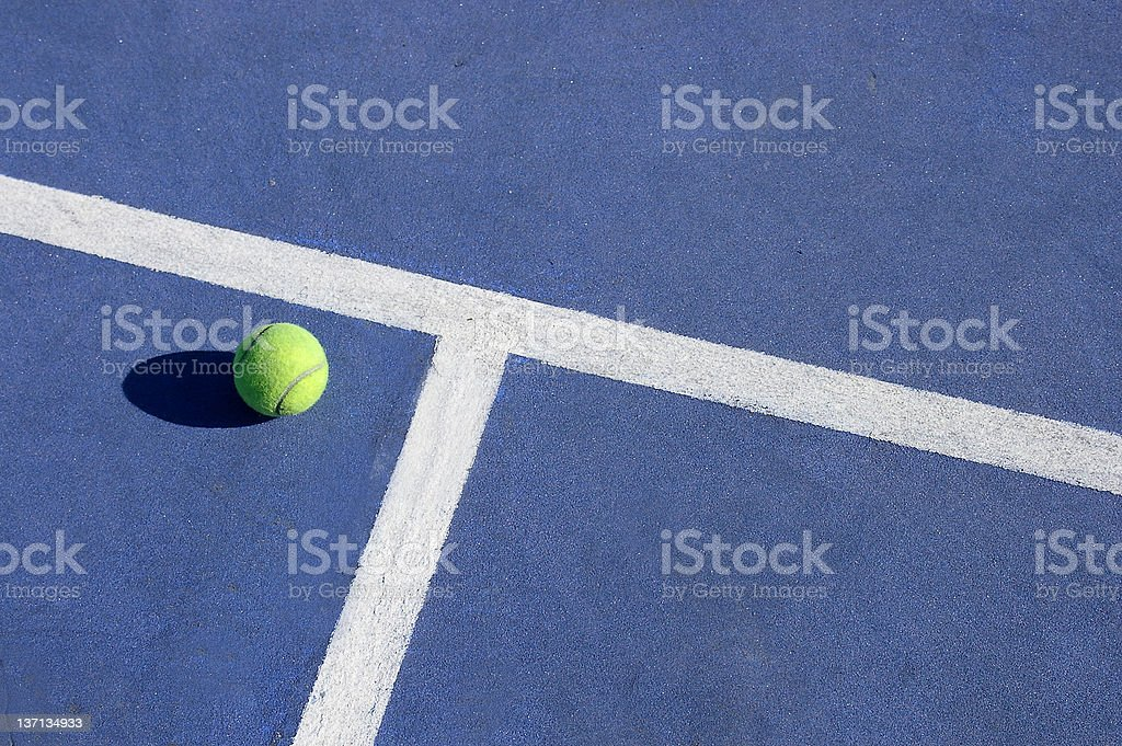 Play tennis stock photo