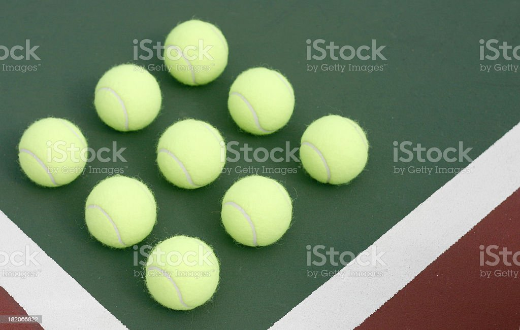 Play tennis royalty-free stock photo