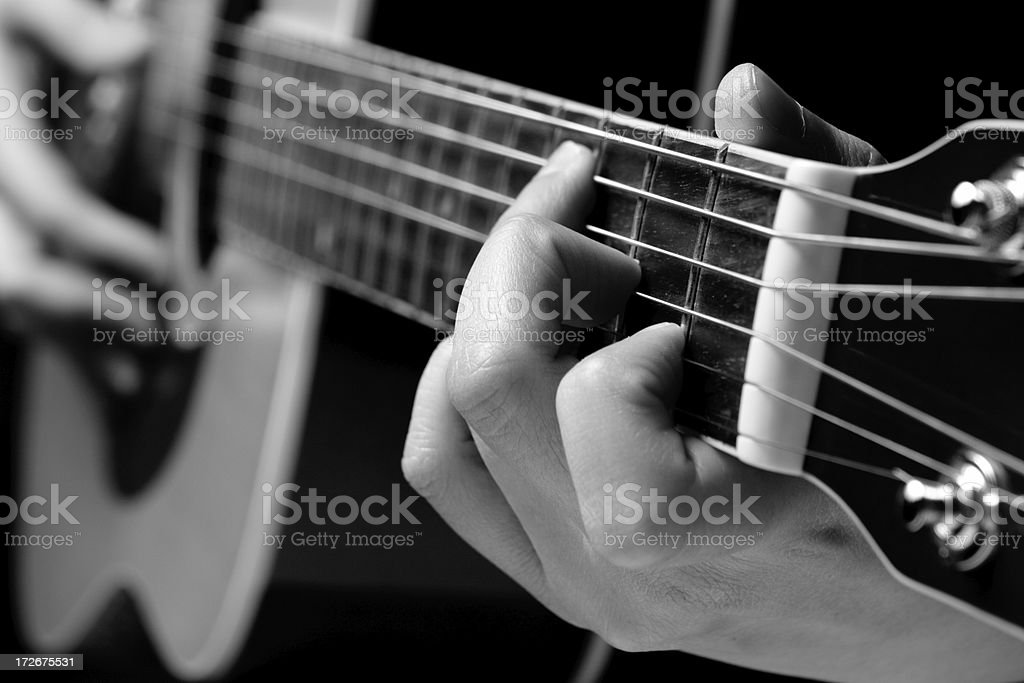 Play That Guitar! stock photo