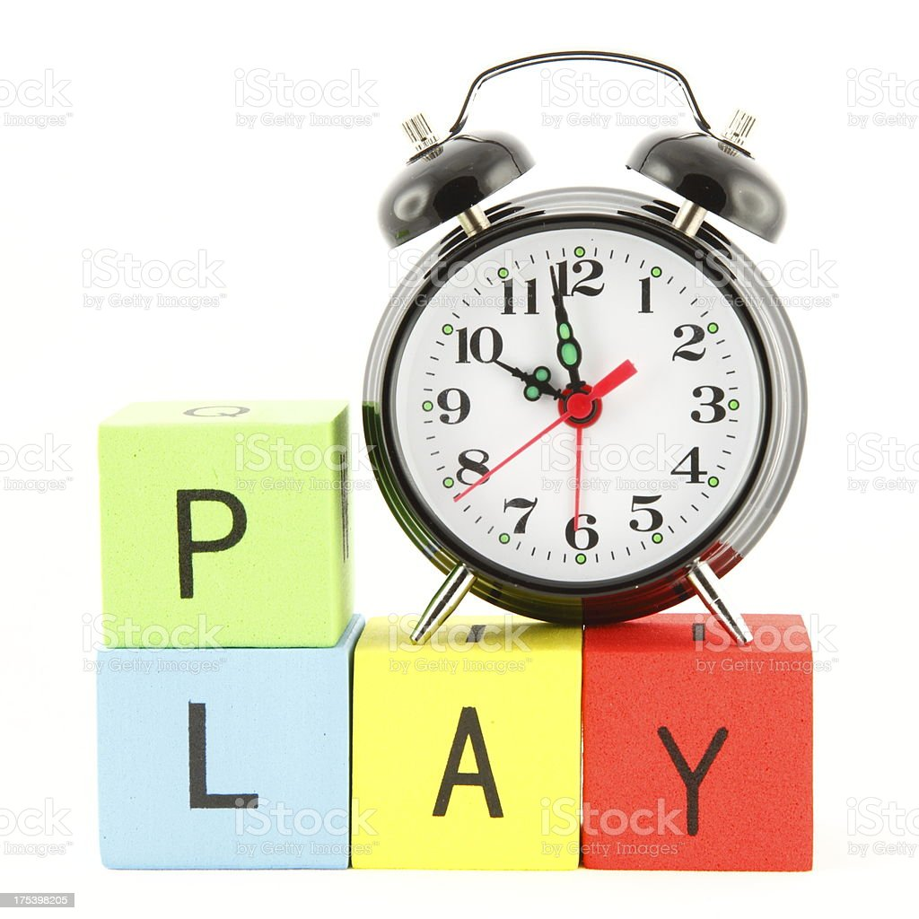 Play Time stock photo