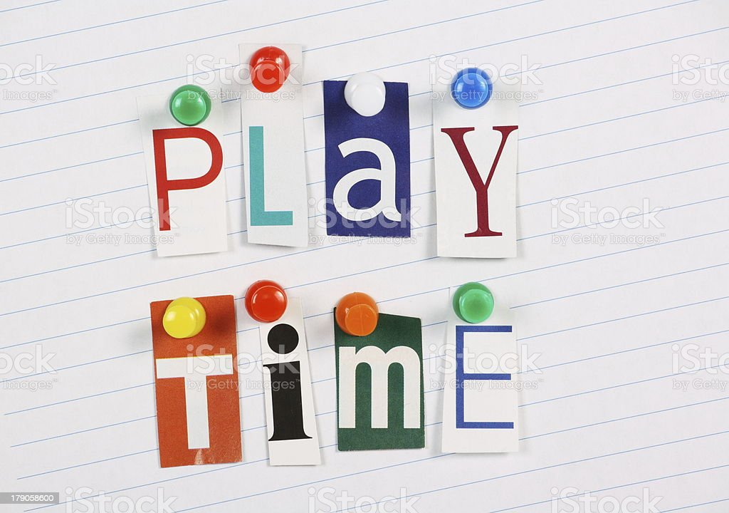 Play Time royalty-free stock photo