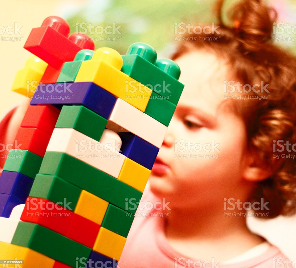 Play with toys stock photo