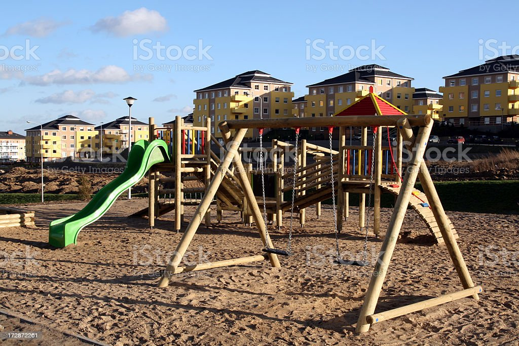 Play zone stock photo