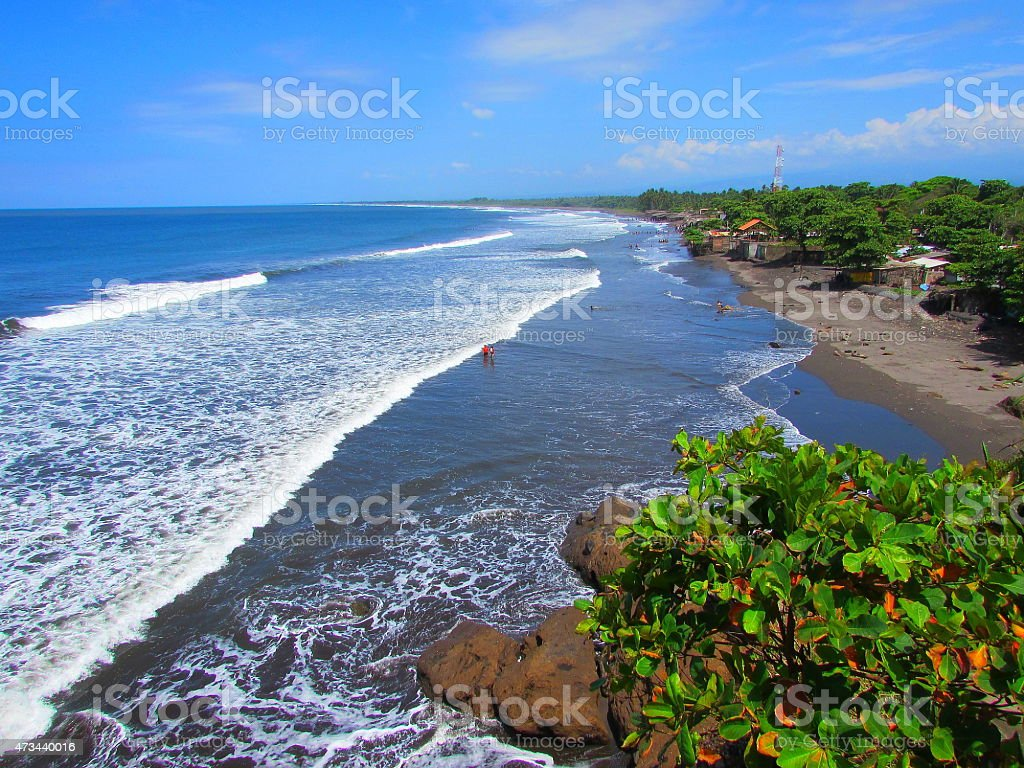 Playa De Acajutla, EL SALVADOR stock photo
