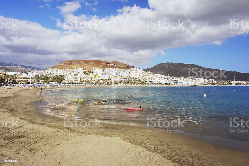 Playa de las Americas, Tenerife stock photo