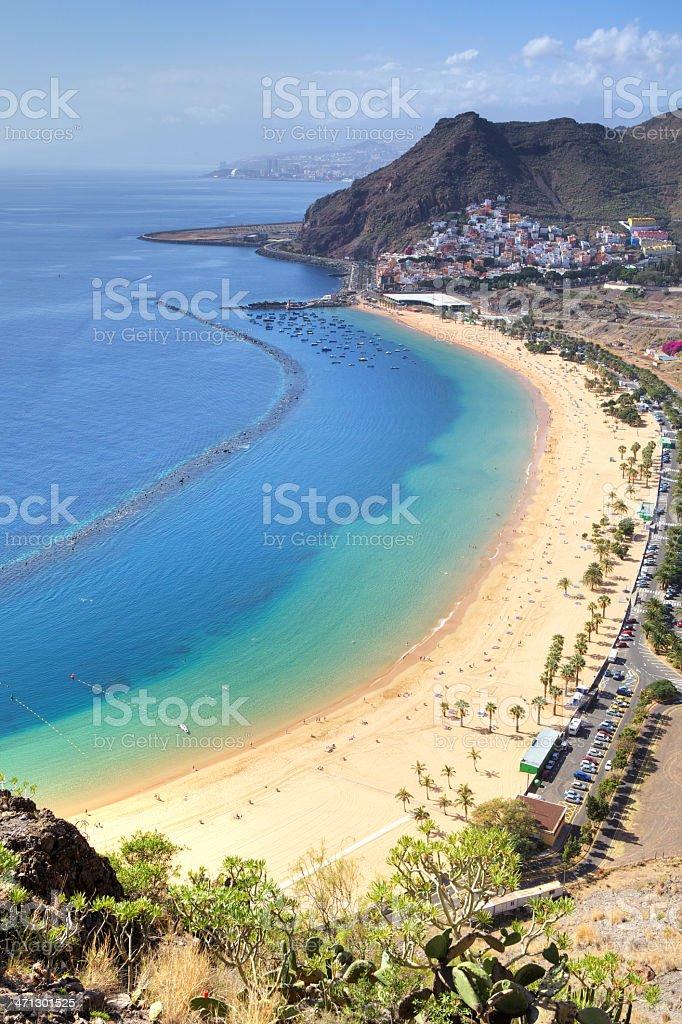 playa de les teresitas (XXL) royalty-free stock photo