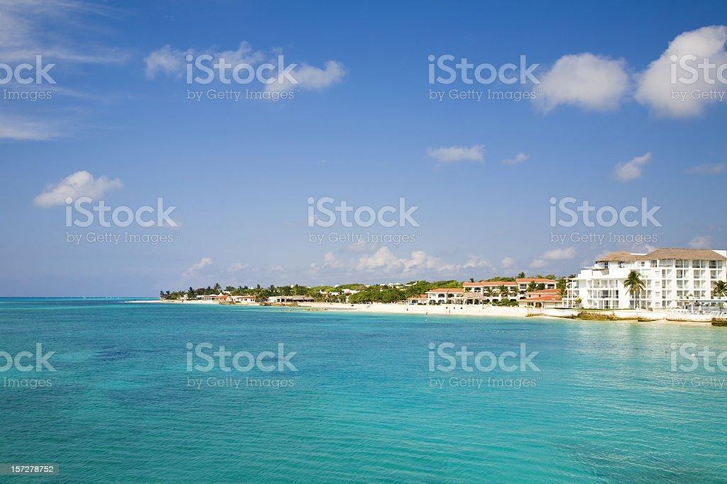 Playa del Carmen royalty-free stock photo