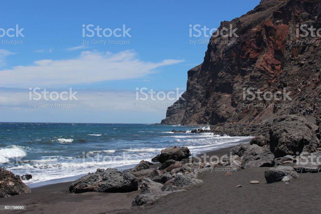 playa des ingles stock photo