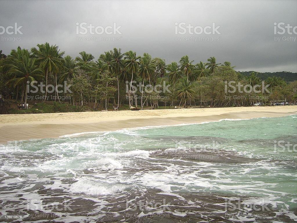Playa Grande, Dominican republic royalty-free stock photo