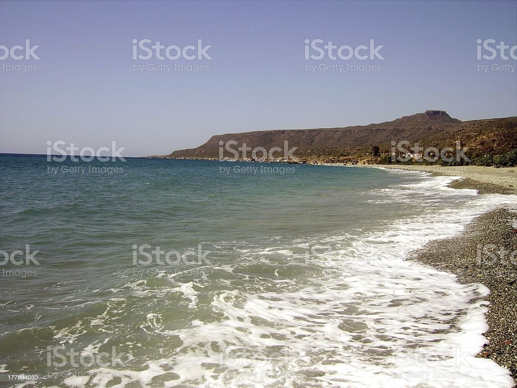 Playa Imias - Guantanamo, Cuba stock photo