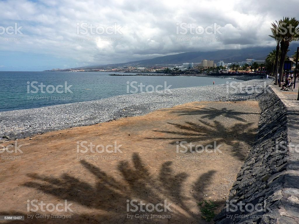 Playa Las Americas, Tenerife Canarias stock photo