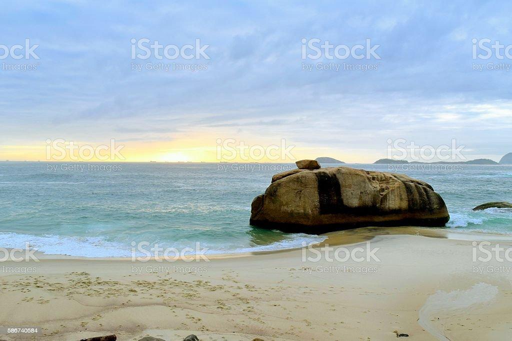 Playa Le Blanc Río de Janeiro Brazil 2015/11/22, stock photo