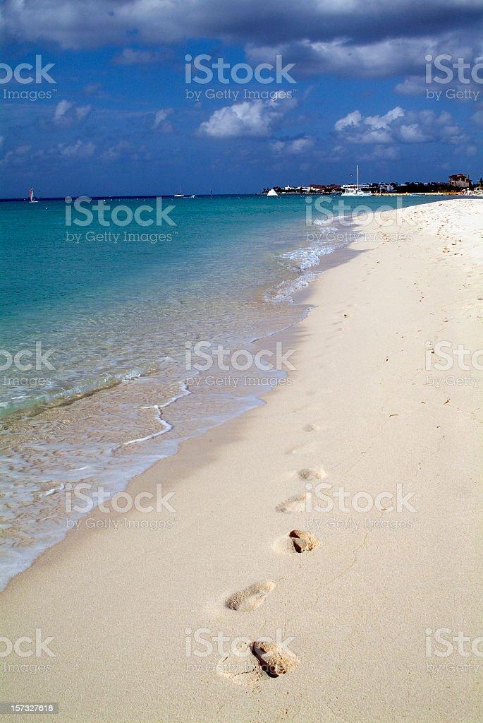 Playa Mia Beach royalty-free stock photo