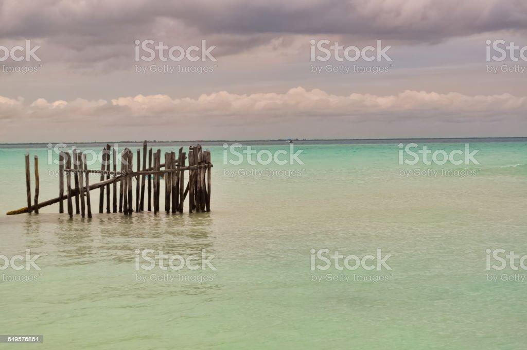 Playa Norte, Isla Mujeres stock photo