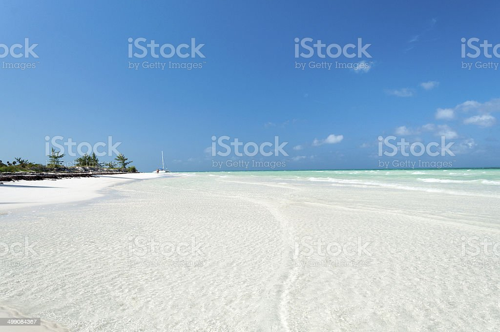 Playa Pilar, Cayo Guillermo ,Cuba stock photo