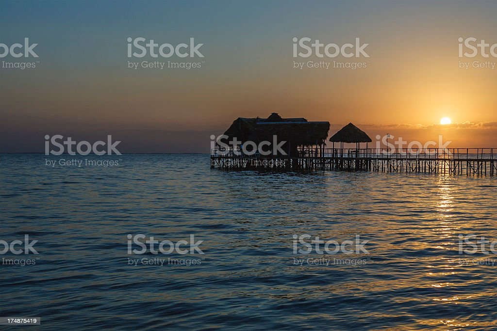 Playa Santa Lucia At Sunrise royalty-free stock photo