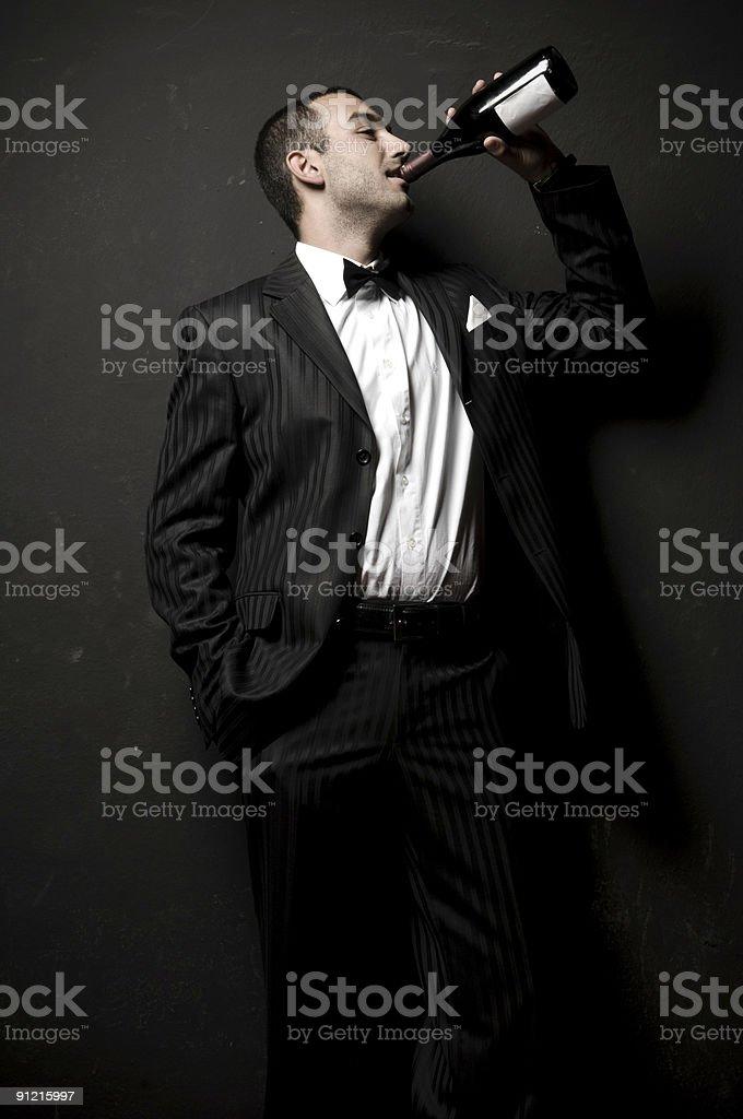 Playboy royalty-free stock photo