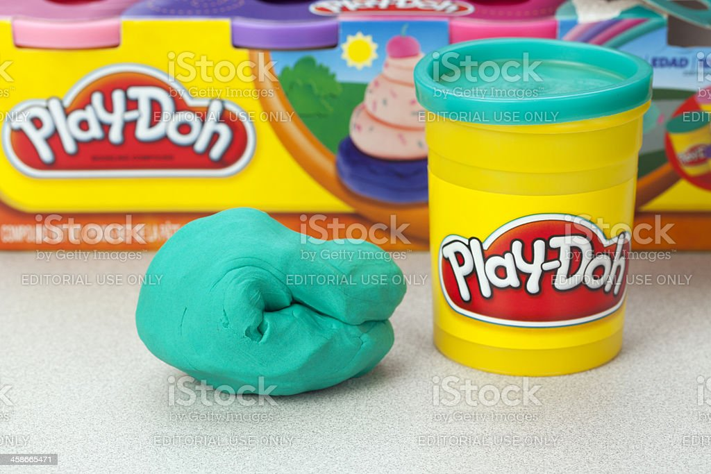 Play-Doh Modeling Compound royalty-free stock photo