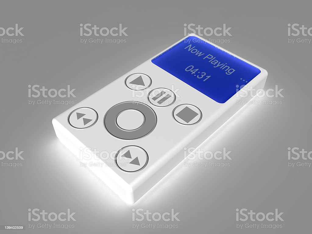 MP3 Player 1 royalty-free stock photo