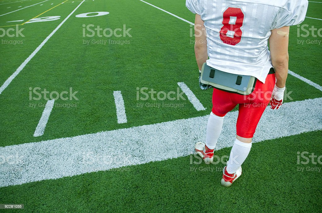 Player Eight stock photo