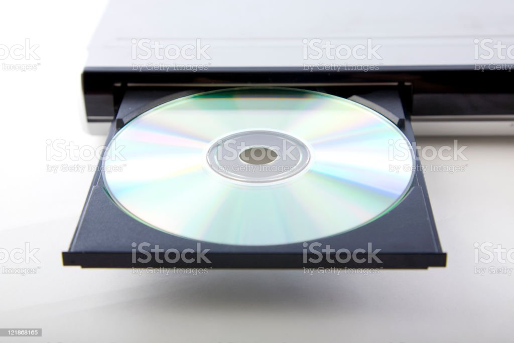 DVD Player stock photo