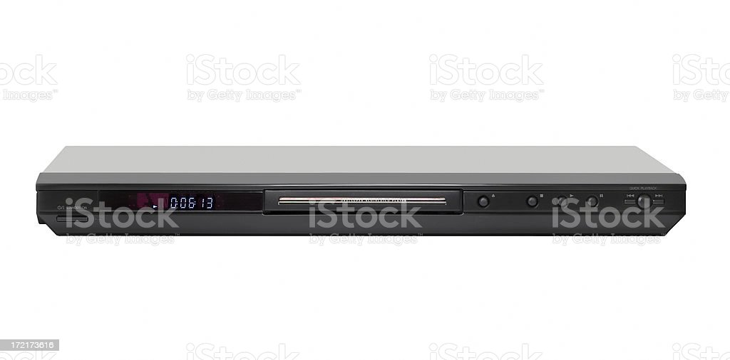 DVD player royalty-free stock photo