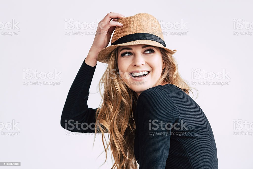 Playful and stylish. stock photo