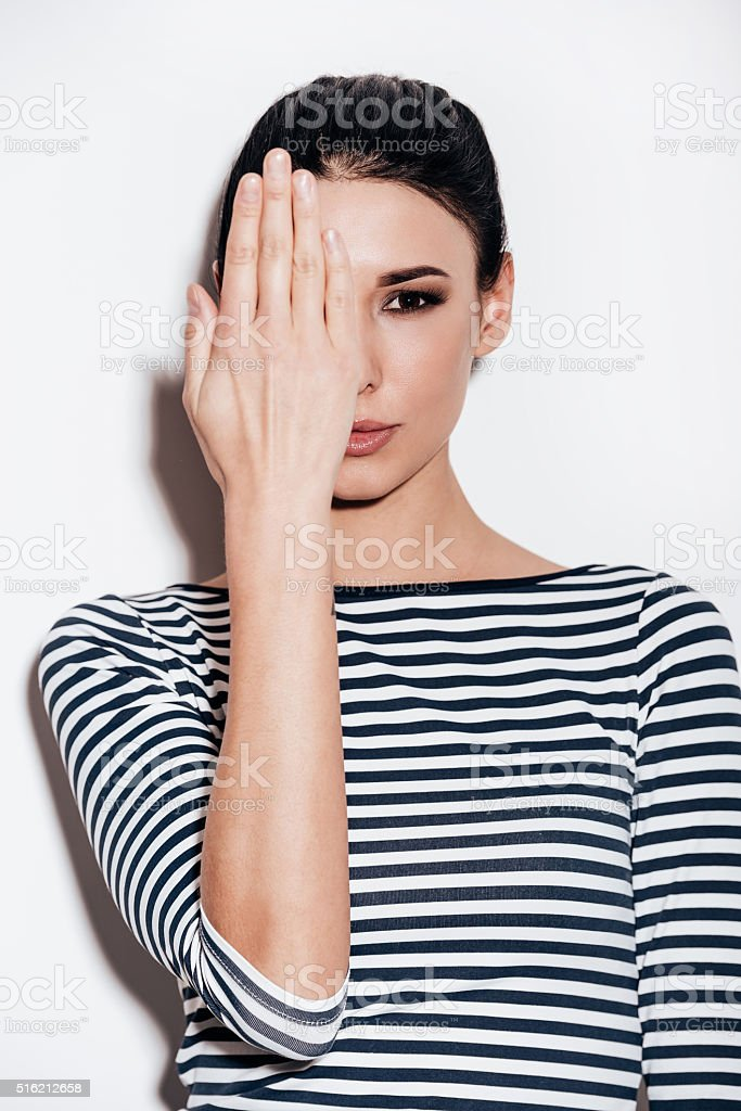 Playful and trendy. stock photo