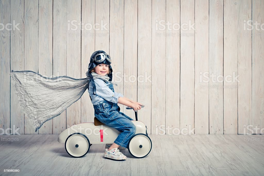 Playful boy stock photo