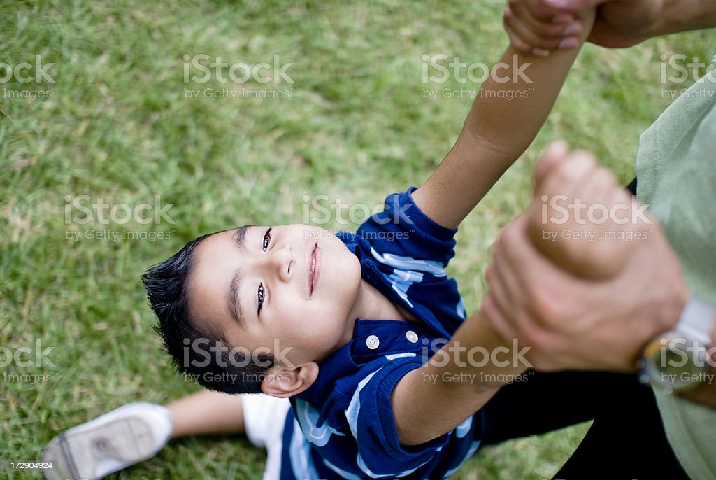 Playful child royalty-free stock photo