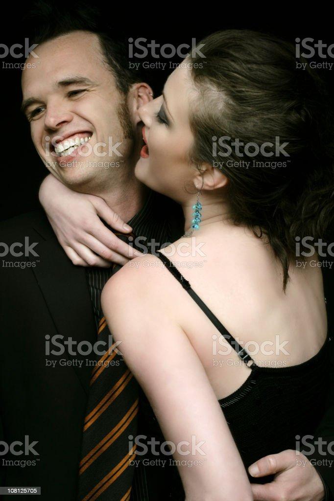Playful Couple stock photo