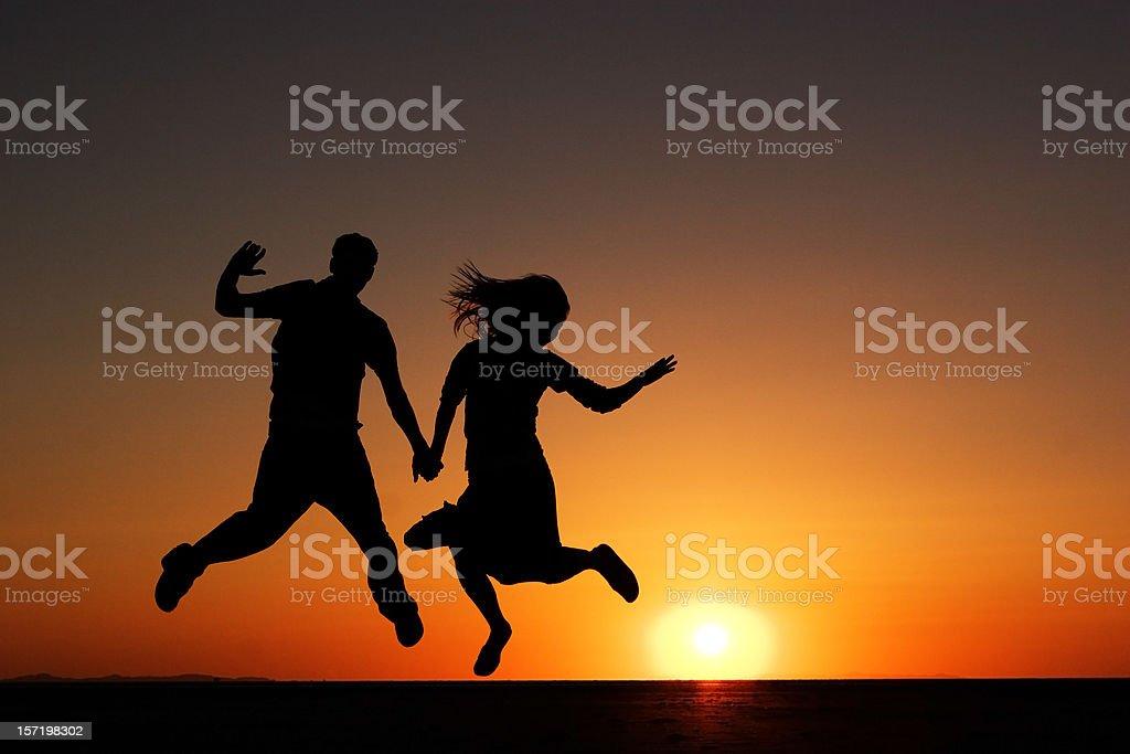 Spielerische Paar – Foto