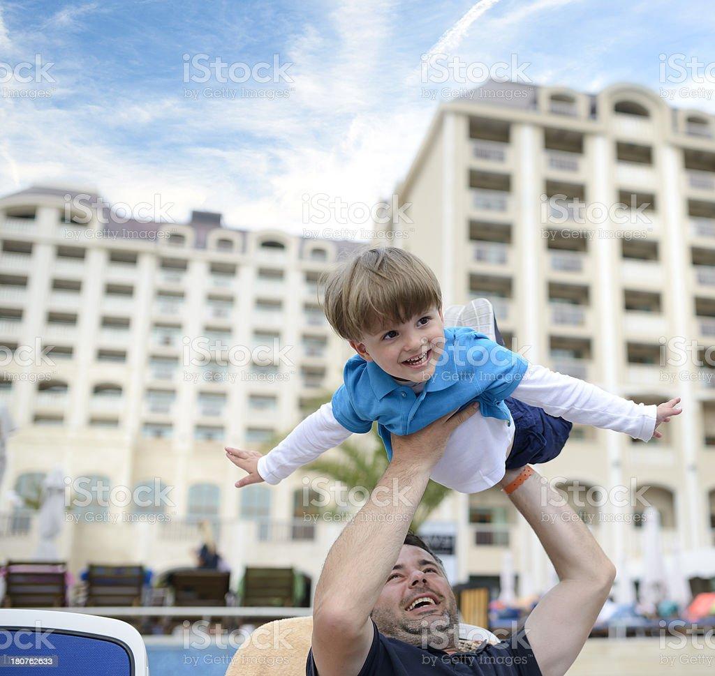 playful family royalty-free stock photo
