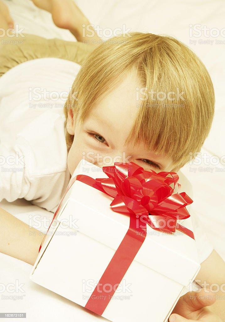 Playful Gift stock photo