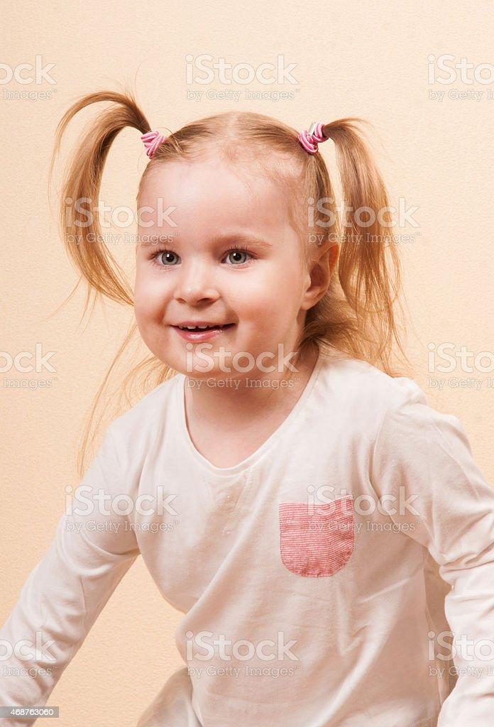 Playful Girl stock photo