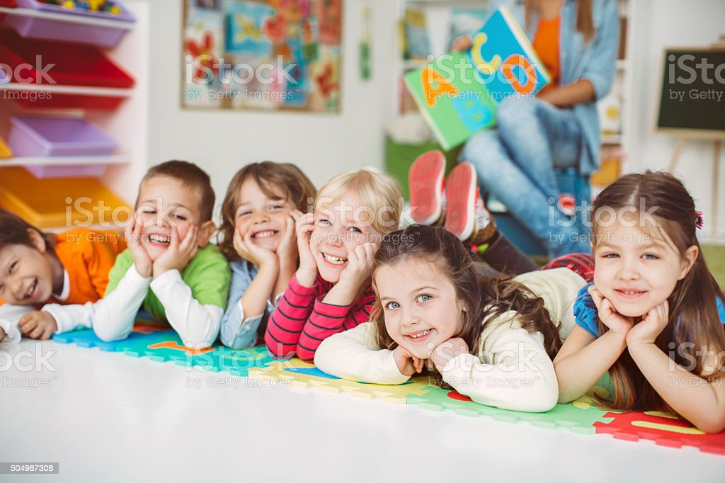 Playful learning stock photo
