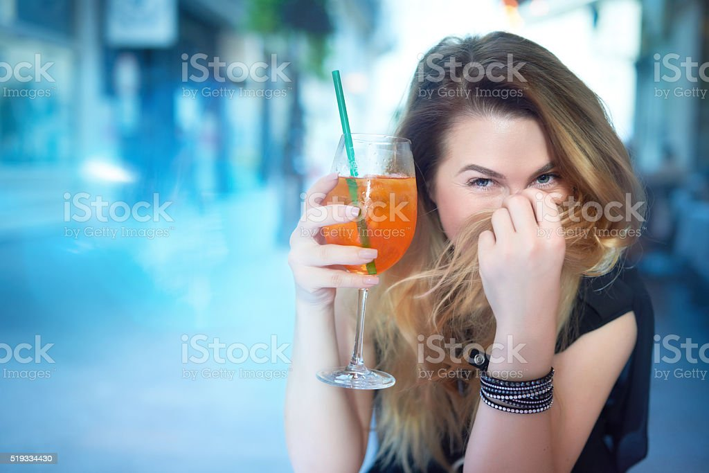 playful look and happiness stock photo