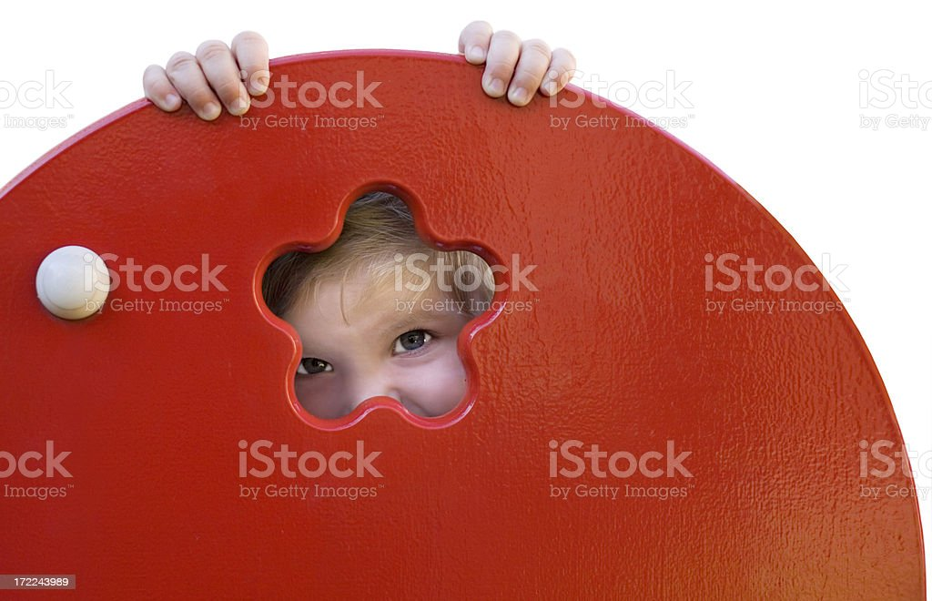 Playful royalty-free stock photo