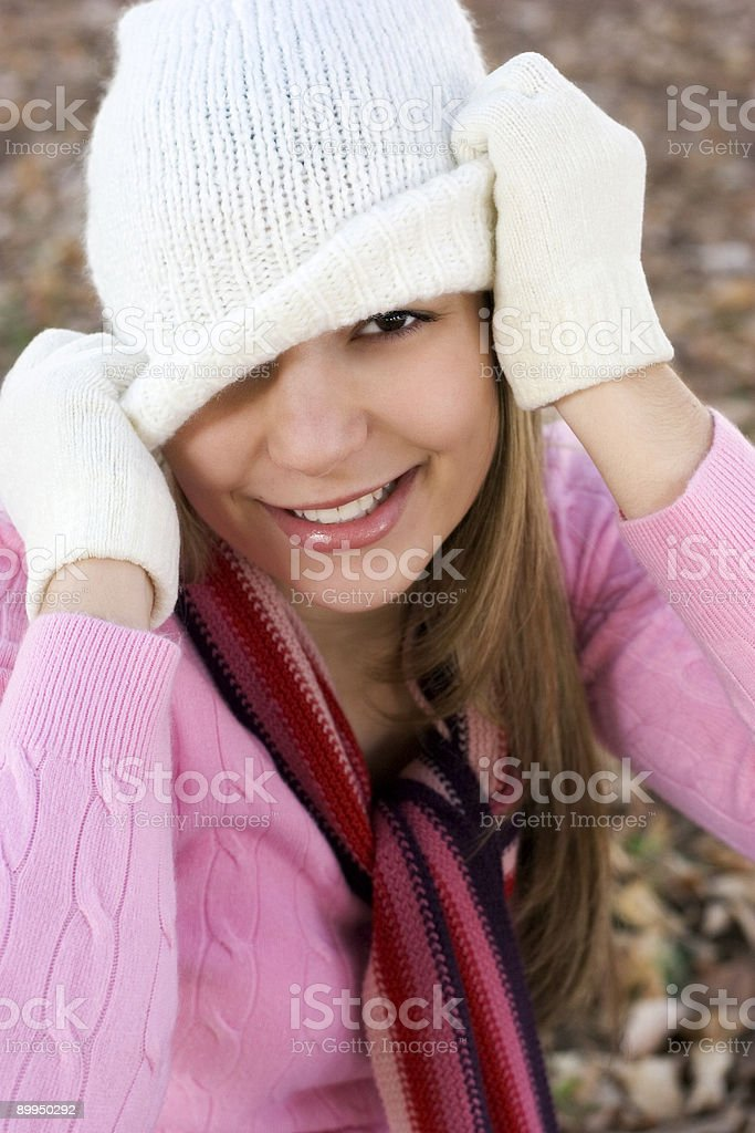 Playful Woman royalty-free stock photo